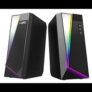 GAME SP220 2.0 RGB Bluetooth Speaker - Altavoces - Reacondicionado