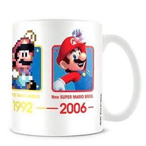 Taza Super Mario: Evolución