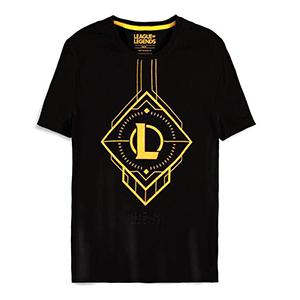 Camiseta League of Legends Negra Talla XL