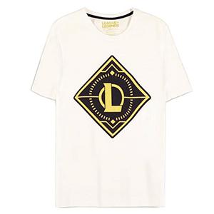 Camiseta League of Legends Blanca Talla S