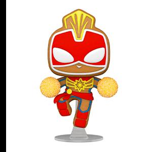 Figura Pop Marvel Holidays S3: Capitana Marvel