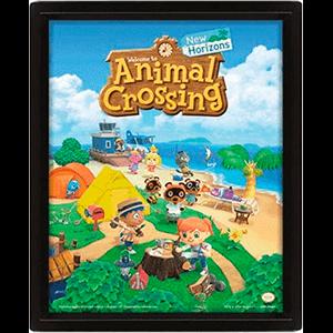 Cuadro 3D Animal Crossing: New Horizons