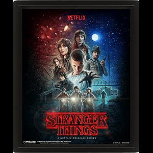 Cuadro 3D Stranger Things: One Sheet