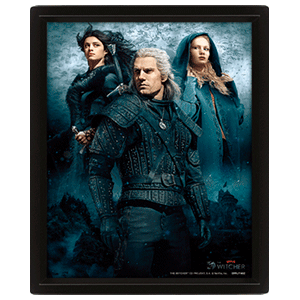Cuadro 3D The Witcher: Connected by Fate