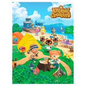 Lienzo 30x40 Animal Crossing: Island Life
