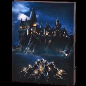 Lienzo con Iluminación 30x40cm Harry Potter: Hogwarts