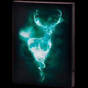 Lienzo con Iluminación 30x40cm Harry Potter: Patronus