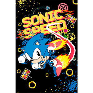 Poster Sonic Speed