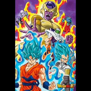 Poster Dragon Ball Super: God Super