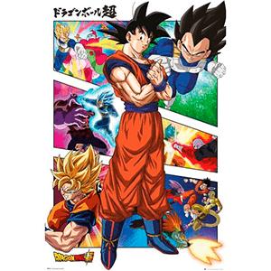 Poster Dragon Ball Super: Panels