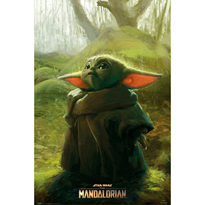 Poster Star Wars The Mandalorian: The Child