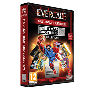 Cartucho Evercade Bitmap Brothers Collection 1