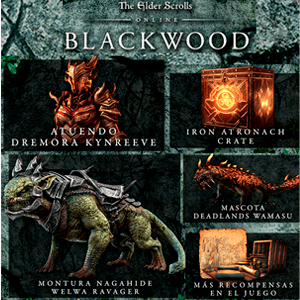 The Elder Scrolls Online Collection Blackwood  - DLC PS4