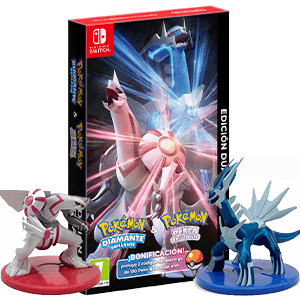 Pack Doble Pokémon Diamante Brillante y Perla Reluciente