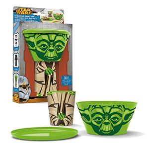 Set Desayuno Star Wars Yoda