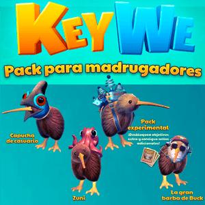 KeyWe - DLC Pack para Madrugadores PS4