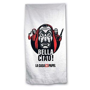 Toalla La Casa de Papel: Bella Ciao!
