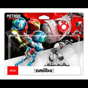 Pack amiibo Metroid Dread - Samus y E.M.M.I.