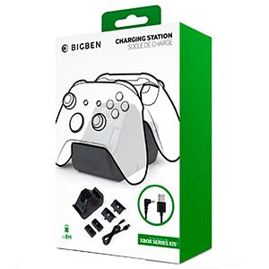 Cargador Mandos Xbox con 2 Baterias Extra