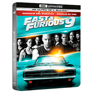 Fast & Furious 9 4K + BD Edición Steelbook