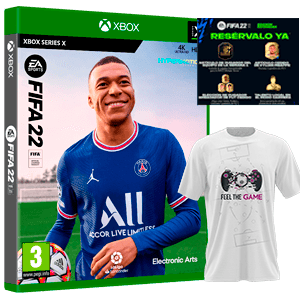 FIFA 22 XSX+Camiseta Talla S+DLC