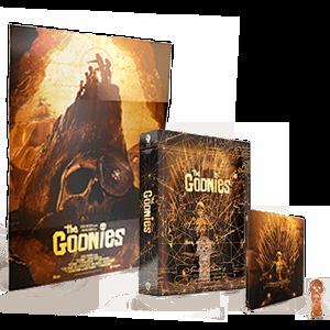 Los Goonies  4K + BD Edición Steelbook Titans of Cult