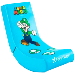 Silla X Rocker - Super Mario ALL-STAR Collection - Luigi