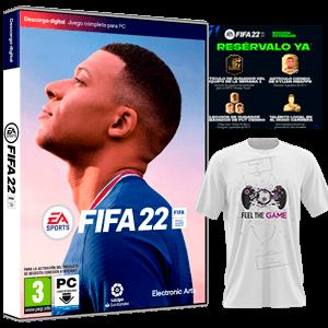 FIFA 22 PCSW+Camiseta Talla M+DLC
