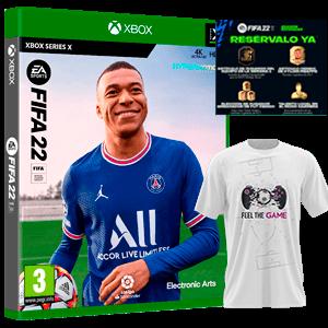 FIFA 22 XSX+Camiseta Talla M+DLC