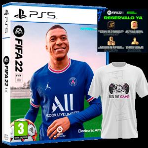 FIFA 22 PS5+Camiseta Talla L+DLC