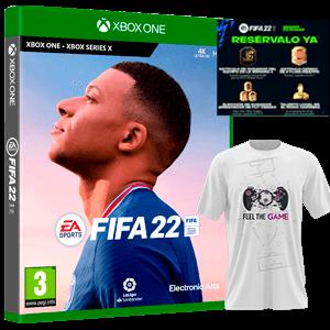 FIFA 22 XONE+Camiseta Talla XL+DLC
