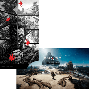 Ghost of Tsushima: Director's Cut - Póster