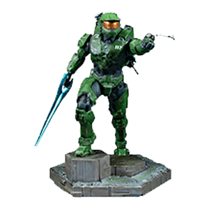 Estatua Halo Infinite: Master Chief con Grappleshot 26cm