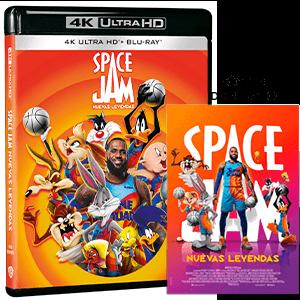 Space Jam Nuevas Leyendas 4K + BD