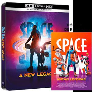 Space Jam Nuevas Leyendas 4K + BD Edición Steelbook