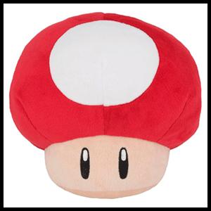 Peluche Super Mario: Super Seta 16cm
