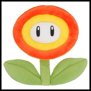 Peluche Super Mario: Flor de Fuego 18cm