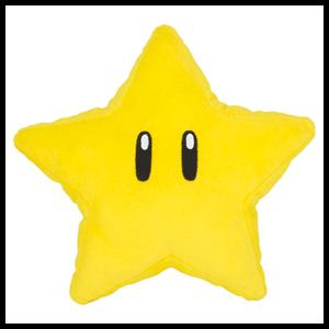 Peluche Super Mario: Super Estrella 18cm
