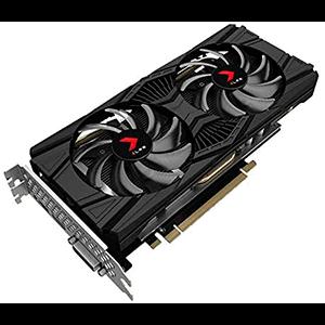 PNY GeForce® GTX 1660 Ti 6GB TWIN FAN DP-HDMI-DVI RELOJ 1770MHz