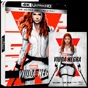 Viuda Negra 4K + BD Edición Steelbook