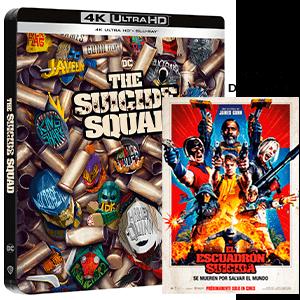 El Escuadrón Suicida (2021) 4K + BD Edición Steelbook
