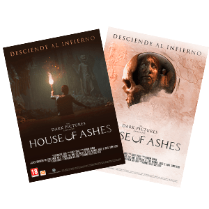 The Dark Pictures Anthology: House of Ashes - Póster