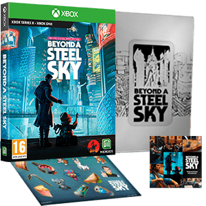 Beyond a Steel Sky - Book Edition