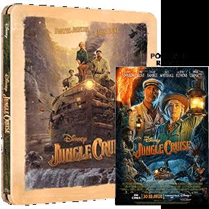 Jungle Cruise Edición Steelbook