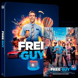Free Guy Edición Steelbook