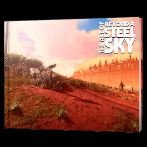 Beyond a Steel Sky - Artbook Digital