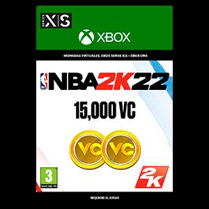 NBA 2K22: 15,000 VC  XSX o XBOX ONE