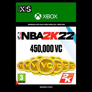 NBA 2K22: 450,000 VC  XSX o XBOX ONE