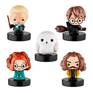 Pack de 5 Figuras con Sello Harry Potter