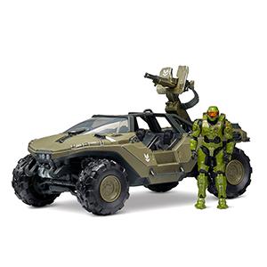 Vehículo Halo: Warthog and Master Chief